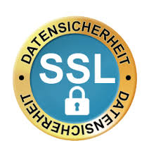 Datensicherheit durch SSL.
