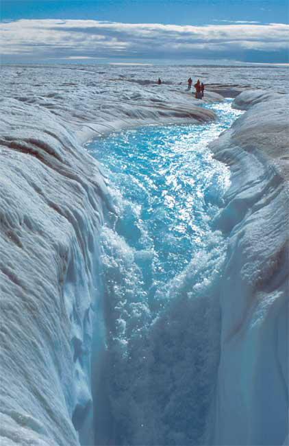 Grönlandeis schmilzt
