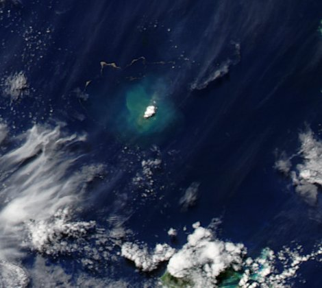 Unterwasservulkan vor Tonga