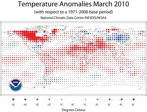 Anomalien März 2010