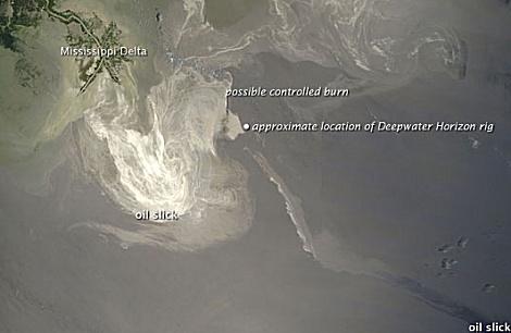 Ölpest im Golf von Mexiko am 24.05.10