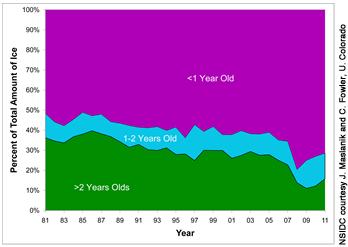 Alter des Meereises