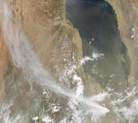 Nabro Ausbruch Eritrea