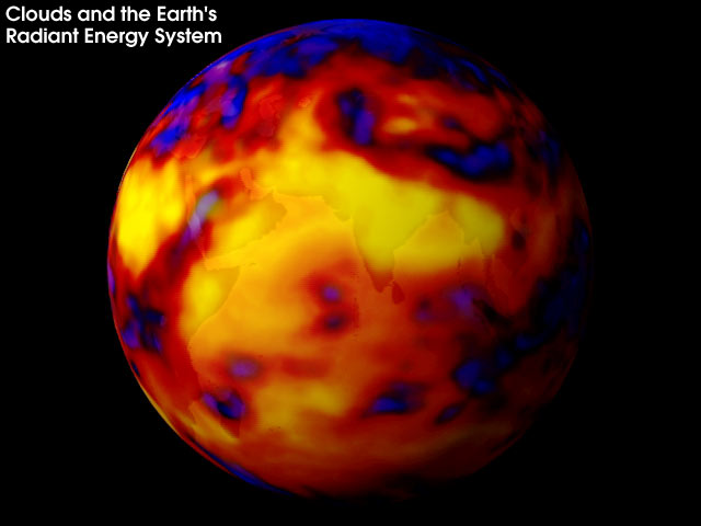 CERES-Bild (vom NASA-Satellit TERRA)