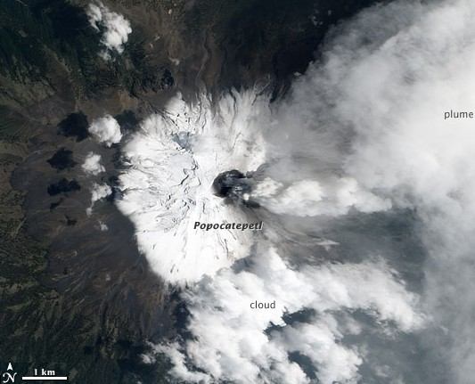 Popocatepetl am 06.05.2012