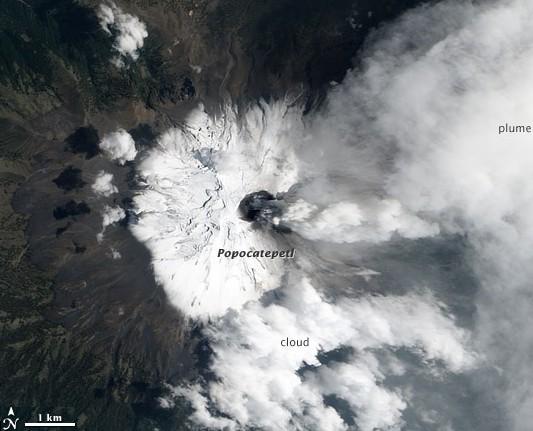 Popocatepetl am 06.05.2012
