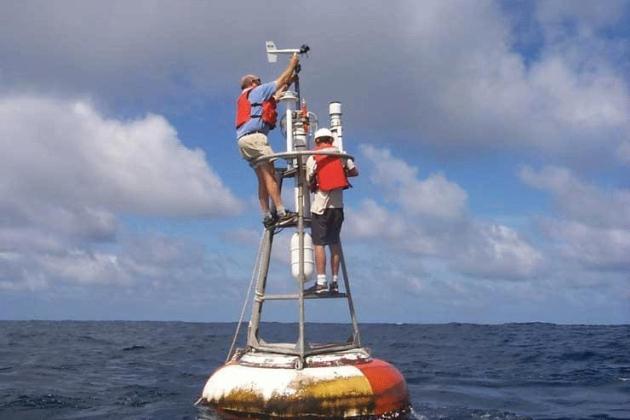 Messboje im Pazifik