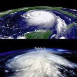 Hurrikane Katrina und Patricia