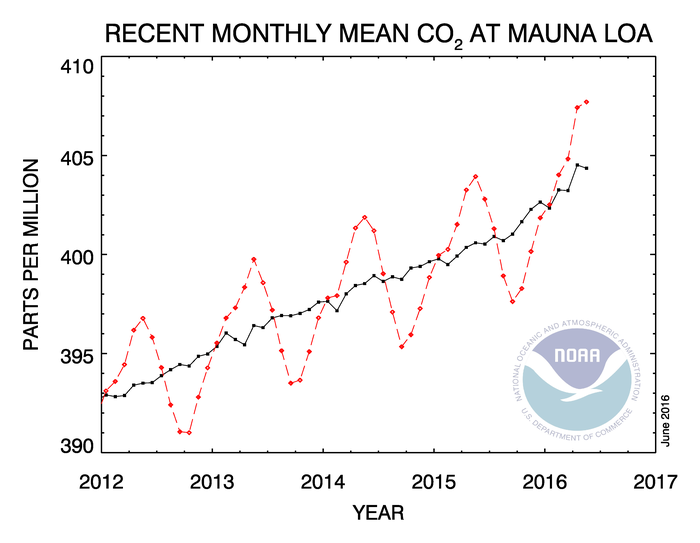 CO2 Mauna Loa