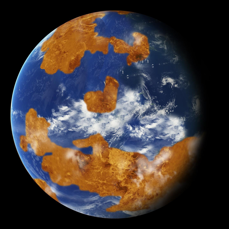 Venus-Modell der NASA