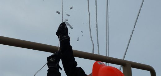 Fesselballon in Alaska