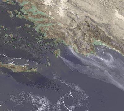 Waldbrand auf Rhodos